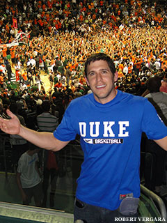 Jon Finkel after Miami's historic upset win against Duke