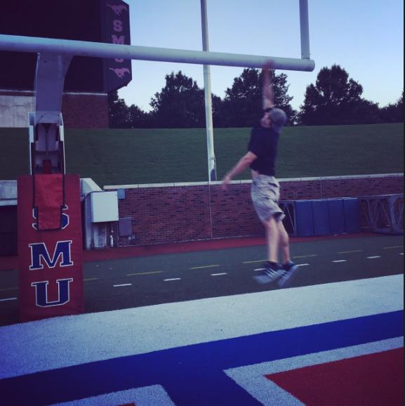 Jon Finkel jumping